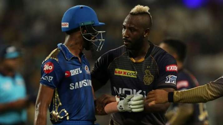India Tv - Hardik Pandya and Andre Russell