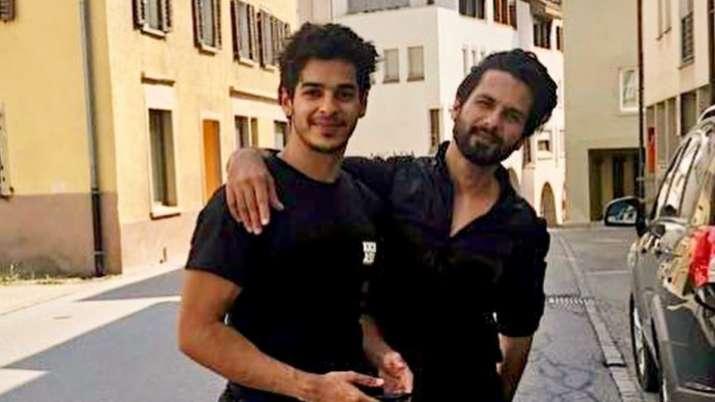 Ishaan Khatter posts body transformation video, brother Shahid Kapoor calls him 'babbar sher'