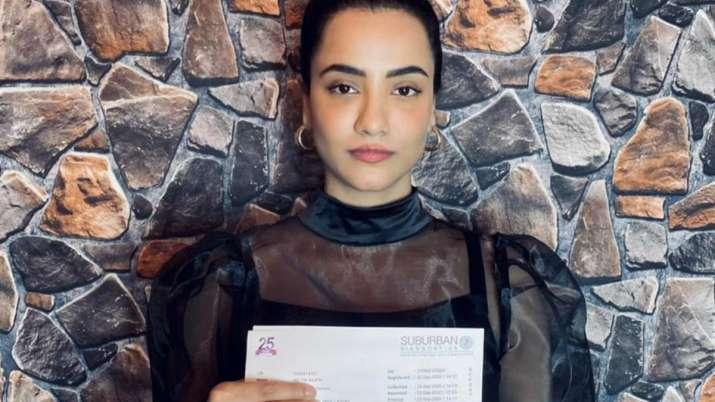 Tia Bajpai shares her negative drug test report