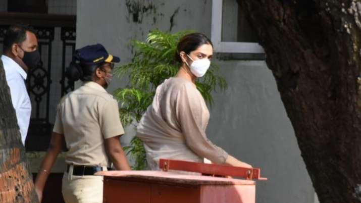 Bollywood actress Deepika Padukone undergoes interrogation by NCB in drug probe