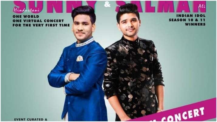'Indian Idol' winners Salman Ali, Sunny Hindustani to perform in London