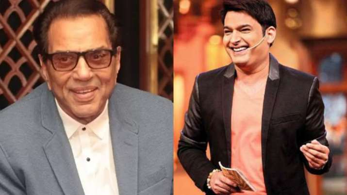 Dharmendra says 'tweet ke lie kisi trained ko saath lena padega', Kapil Sharma reacts