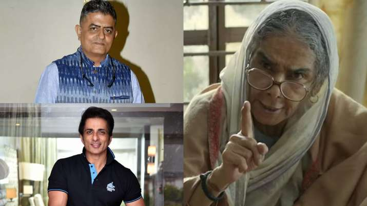Surekha Sikri stable but under observation; Sonu Sood, Gajraj Rao and others extend support for trea