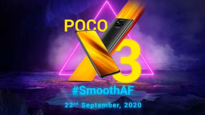 poco, poco smartphones, poco x series, poco x3, poco x3 launch in india, poco x3 launching in india