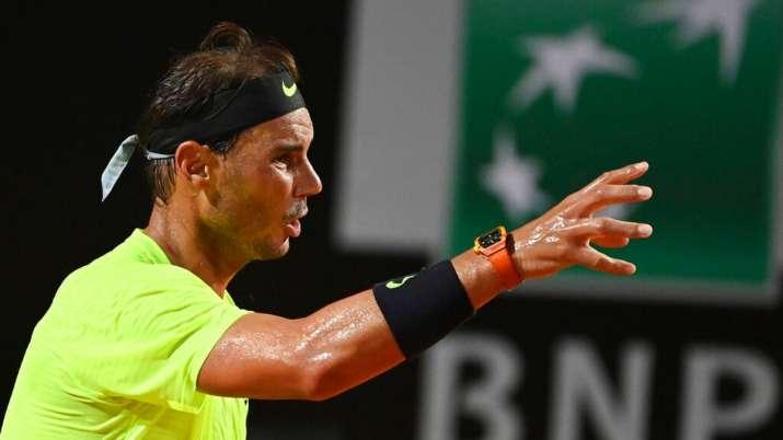 Italian Open 2020 Rafael Nadal Loses In Quarterfinals Novak Djokovic Enters Semis Tennis News India Tv