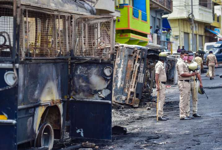 Bengaluru riots: BJP gives clean chit to police, demands ban on SDPI