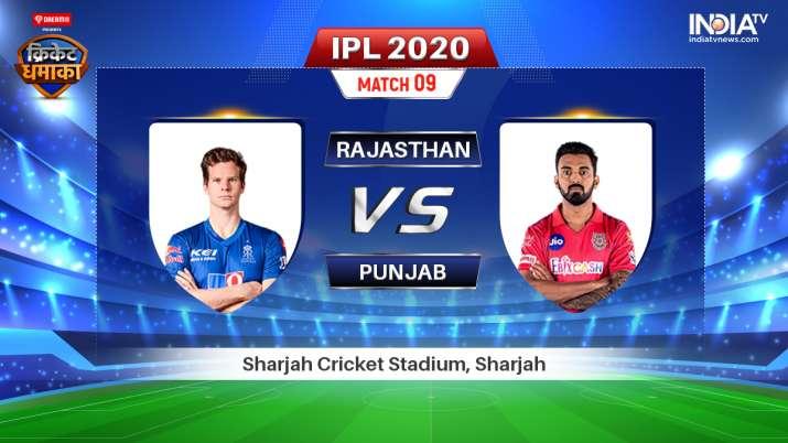 Rajasthan Royals vs Kings XI Punjab IPL 2020: Watch RR vs KXIP IPL 2020 Live Cricket