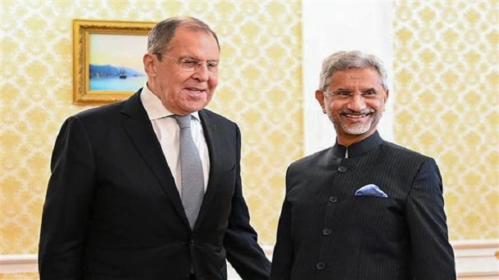 External Affairs Minister S Jaishankar meets Russian counterpart Sergey Lavrov in Moscow.