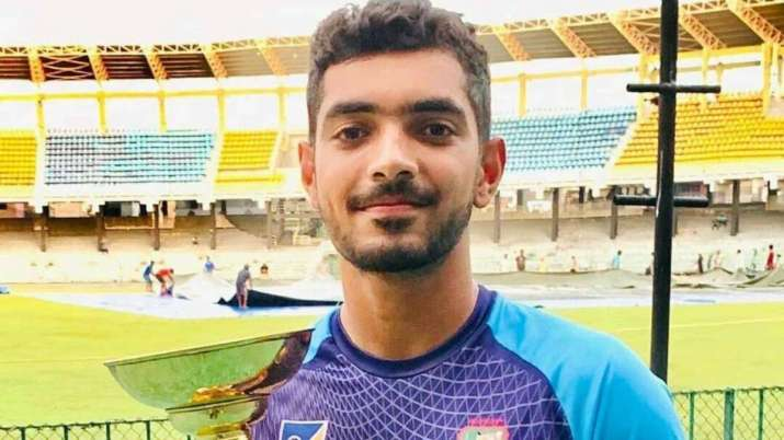 Bangladesh's Saif Hassan tests COVID-19 positive for second time