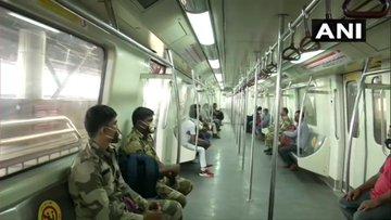 Delhi Metro's Red Line, Violet Line, Green Line resume