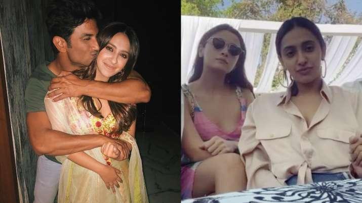 After drugs video, Sushant Singh Rajput's photos with Alia Bhatt's best friend Akansha Ranjan Kapoor