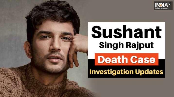 Sushant Singh Rajput Death Case LIVE Updates sara ali khan rhea chakraborty