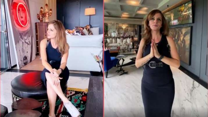 Watch video: Sussanne Khan's plush Mumbai apartment will leave you mesmerized