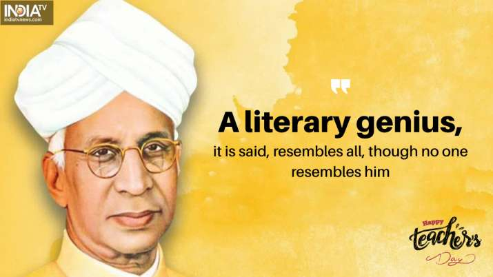 India Tv - A literary genius, it is said, resembles all, though no one resembles him