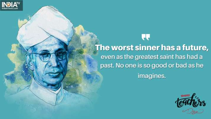 India Tv - The worst sinner has a future, even as the greatest saint has had a past. No one is so good or bad a