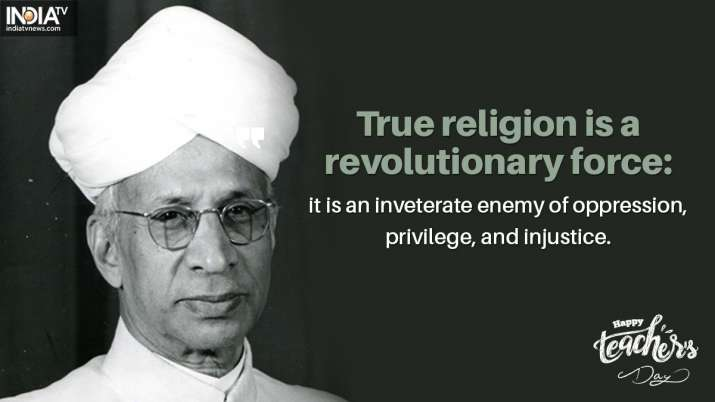 India Tv - True religion is a revolutionary force: it is an inveterate enemy of oppression, privilege, and inju