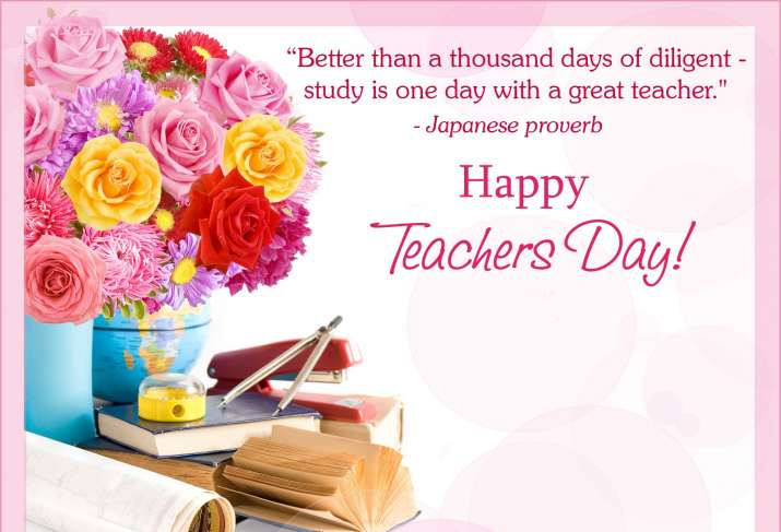 Happy Teacher S Day 2020 Whatsapp Facebook Messages Images Sms To Express Gratitude To Your Gurus Books News India Tv