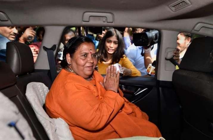 BJP leader Uma Bharti tests positive for Covid-19,