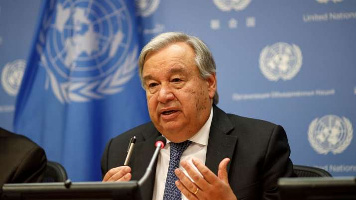 UN chief terms COVID-19 as game-changer for international peace, security