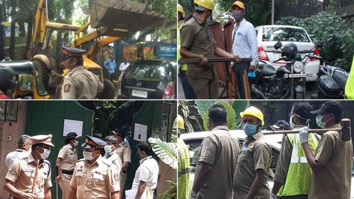 BMC demolishes Kangana Ranaut's Bandra office