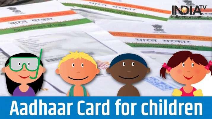 Aadhaar card for children