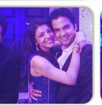 India Tv - Kajal Aggarwal and Gautam Kitchlu