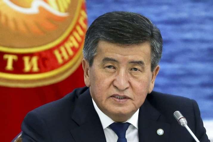 Kyrgyzstan president Jeenbekov resigns