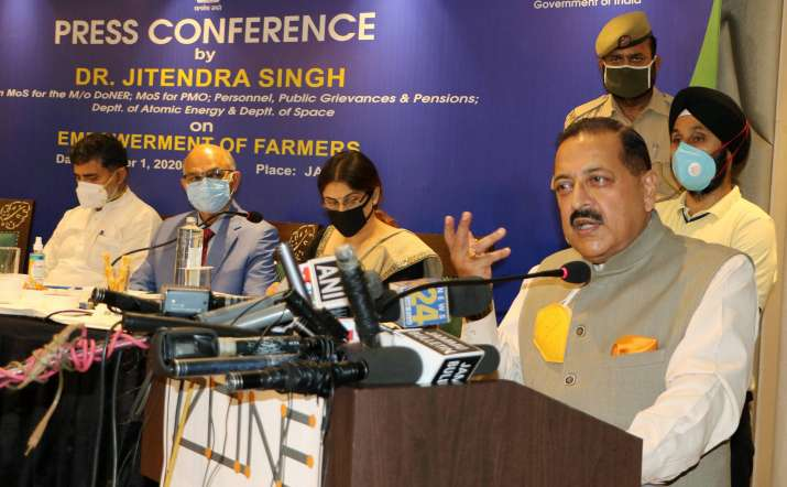 People of J&K have right to decide whether or not to sell property: Jitendra Singh on new Land Laws