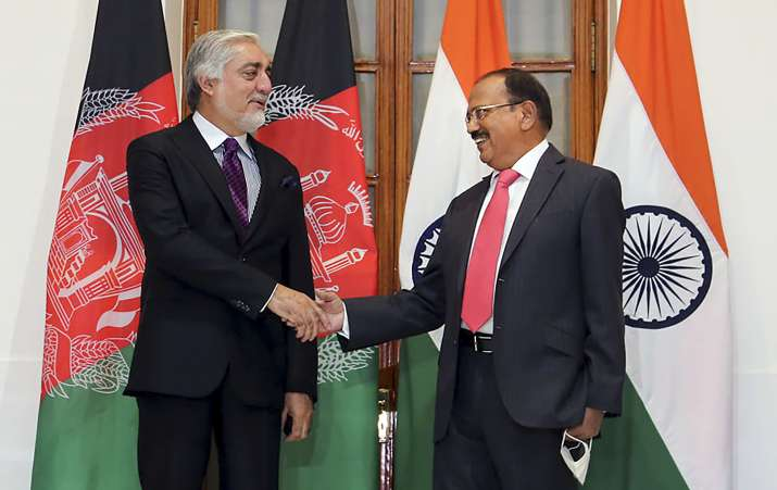Abdullah Abdullah holds talks with NSA Doval