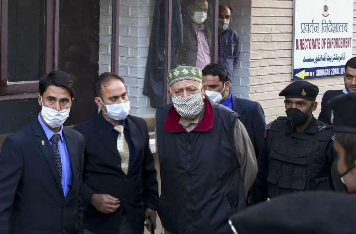 Farooq Abdullah said that the struggle for restoration of