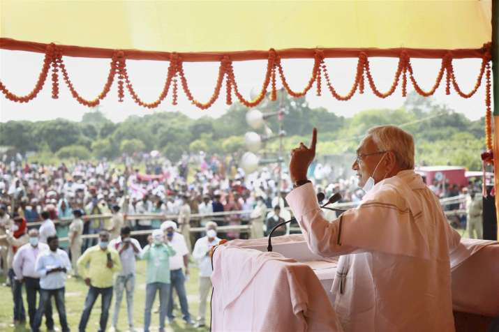 Over 50% population satisfied with JD-U-BJP in Bihar