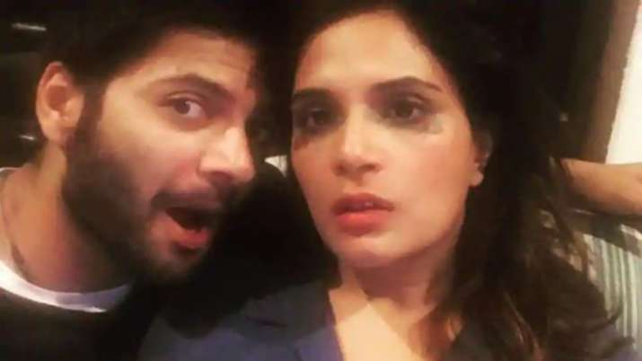 Ali Fazal shares adorable picture with his 'superhero' girlfriend Richa Chadha
