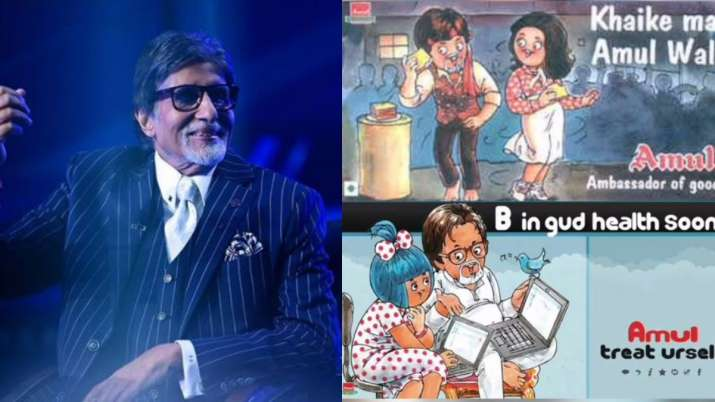 Amul pays tribute to the living legend Big B on his 78th birthday