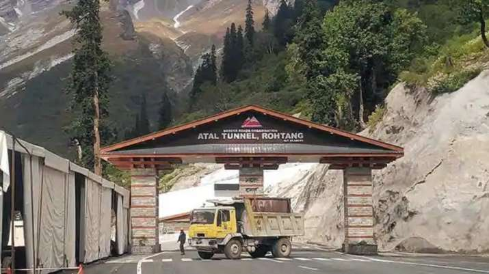 PM Modi to inaugurate strategic Atal Tunnel at Rohtang on Saturday