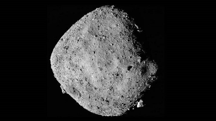NASA spacecraft collects rock samples from asteroid Bennu