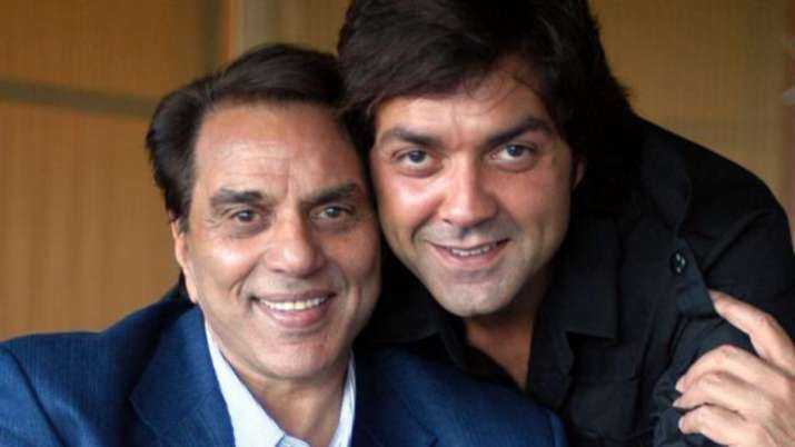 Dharmendra celebrates Bobby Deol's 25 years in Bollywood with special video from his debut film 'Bar
