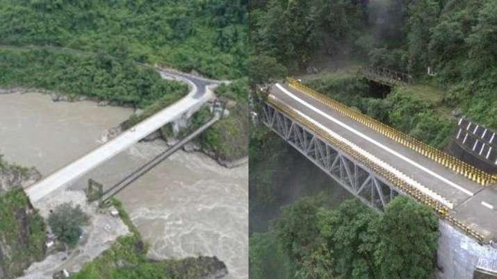 Rajnath Singh, Defence Minister, BRO, Bridge