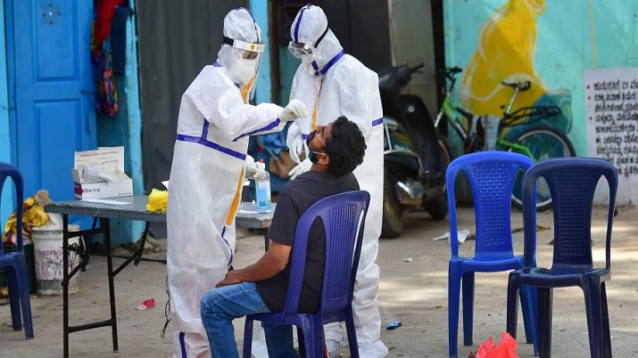 India records 46,964 new coronavirus cases, 470 deaths in a day; active cases remain under 6 lakh