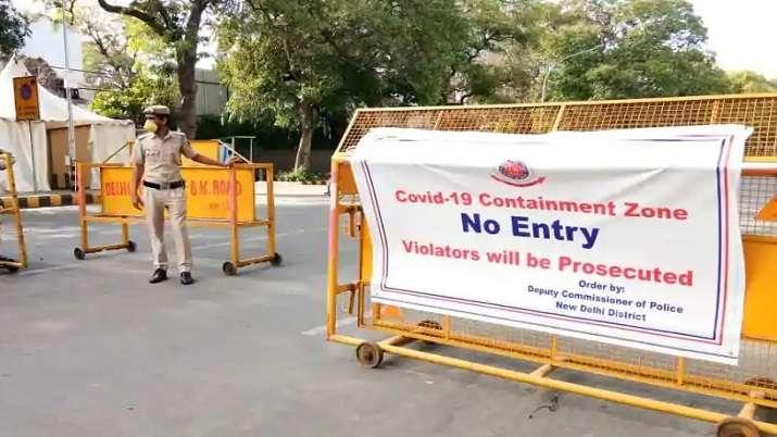 Over 1,000 new coronavirus containment zones created in Delhi in last 15 days