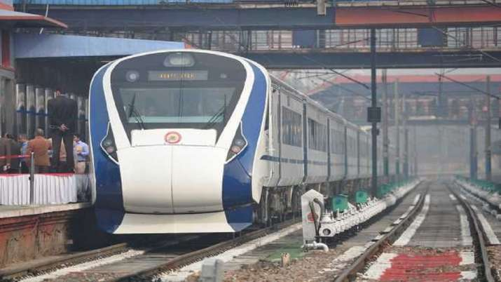 Delhi Katra Vande Bharat Exprss train, Indian Railways