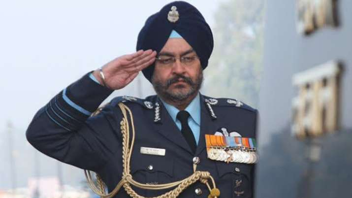 Former Indian Air Force chief BS Dhanoa.