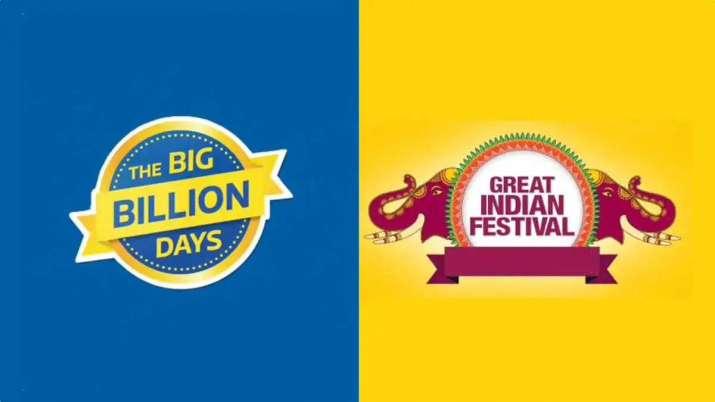 flipkart, flipkart big billion days sale, amazon, amazon great indian festival sale, smartphones, au