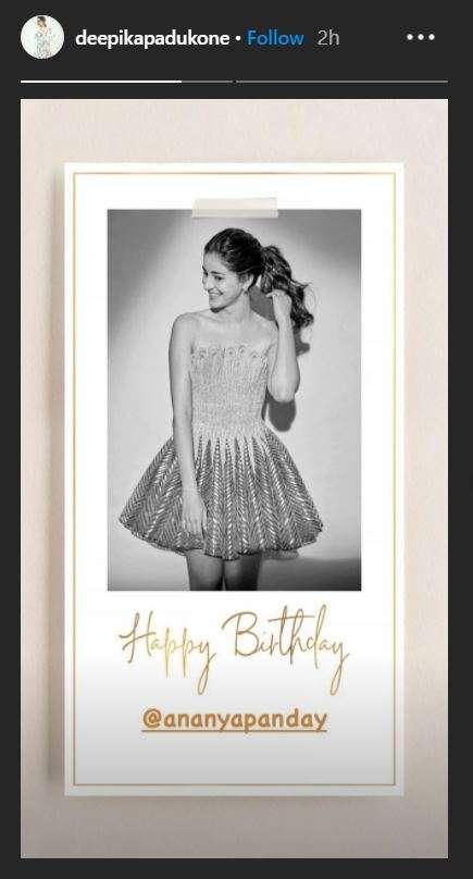 India Tv - Deepika Padukone shares lovely birthday wish for her 'baby girl' Ananya Panday