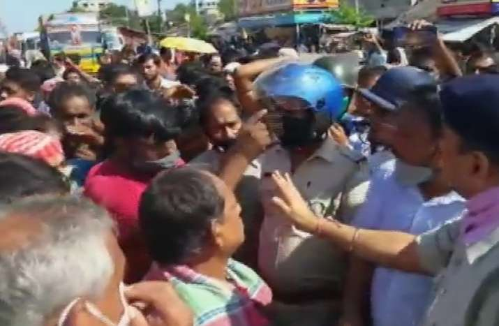 bengal workers protest