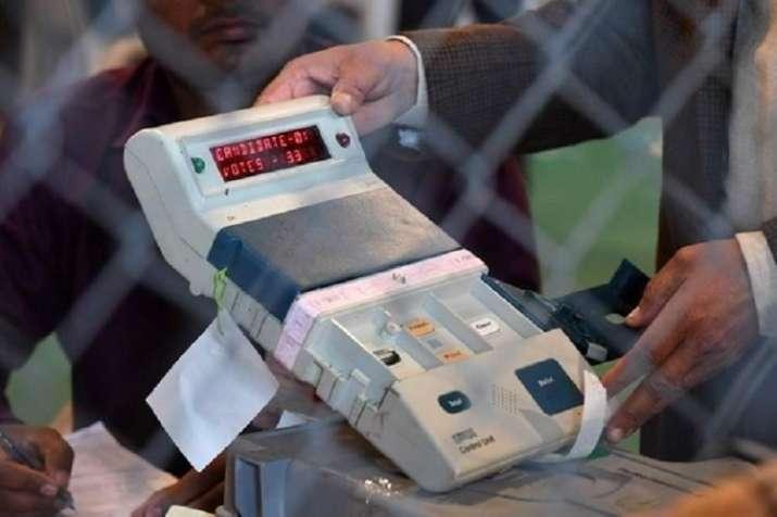 Bihar Election 2020 EVM glitch Lakhisarai polling booth ...