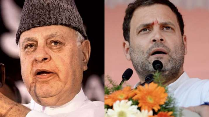Farooq Abdullah, Rahul Gandhi, BJP, Article 370, China