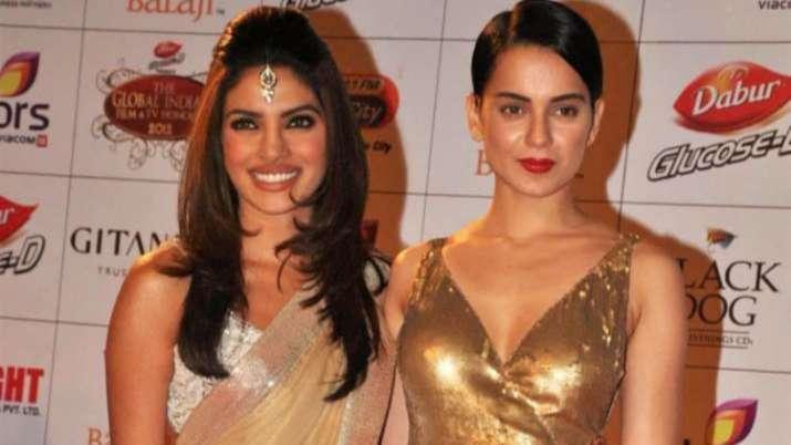 Fashion turns 12: Shonali aka Kangana Ranaut calls Meghna aka Priyanka Chopra 'fabulous'