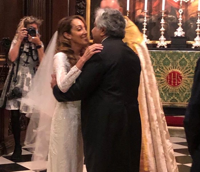 Harish salve wedding, harish salve caroline brossard wedding, harish salve wife, who is caroline bro