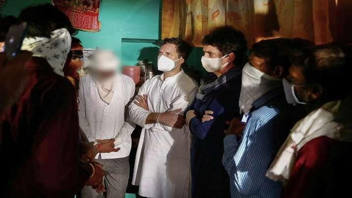 Hathras case, Hathras gangrape murder case, Priyanka Gandhi Vadra, Rahul Gandhi