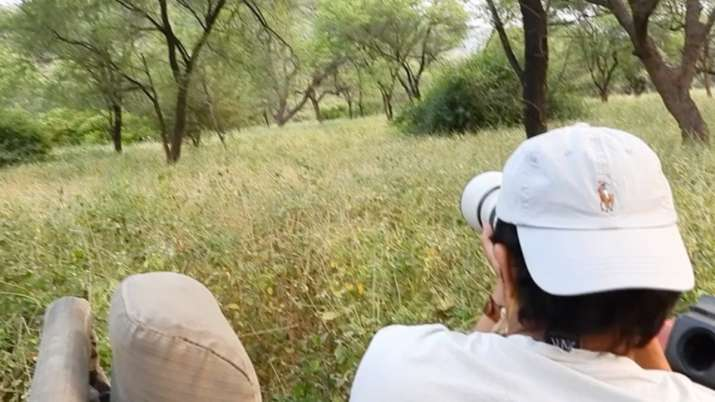 Randeep Hooda's dream of sighting a leopard in the wild comes true